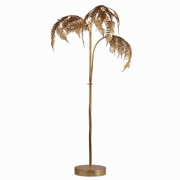 Gold Palm Leaf Floor Lamp Pre Order, Palm Floor Lamp Uk