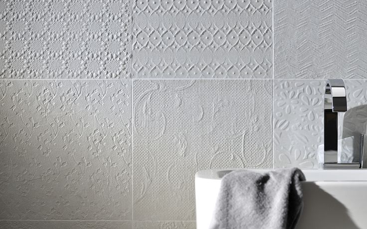 A Beautiful Looking Tile That Features A Mix Of Different