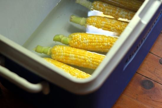 cooler corn on the cobb | Cooler Corn: A Better Way to Corn on the Cob - Food With Legs | Food ...