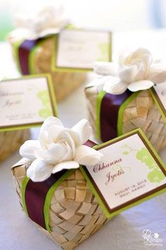 boites dragée exotique | mariageoriginal
