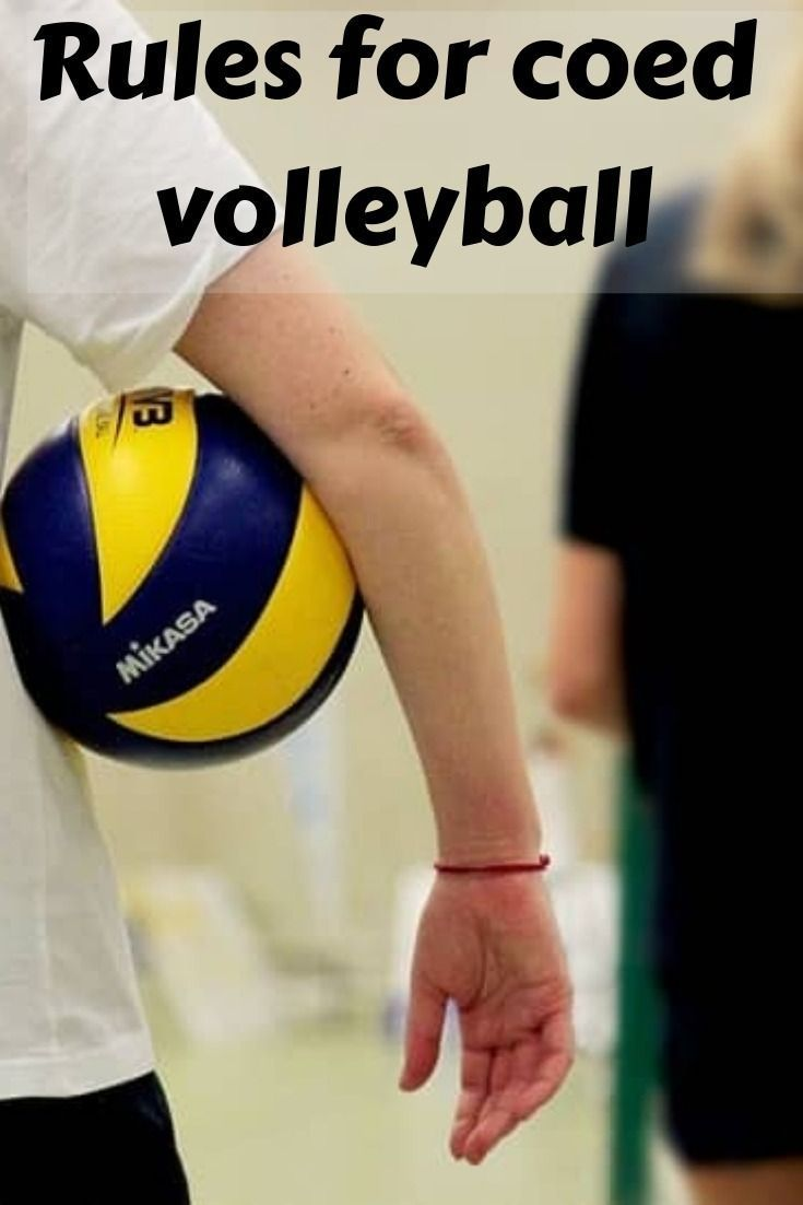 The Rules For Recreational Coed Volleyball Are A Little Bit Different That The Traditional Game Check Out What Volleyball Volleyball Rules Volleyball Training