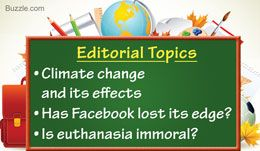 Editorial Topics for High School Students