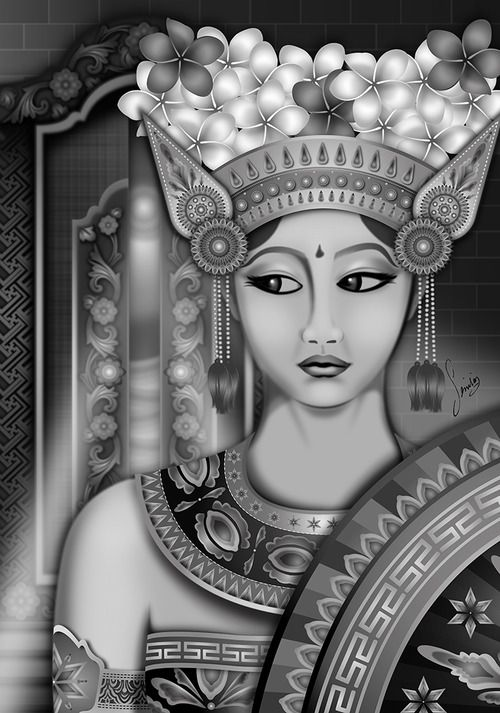 I would love to get a traditional Indonesian/Sumatrian woman to represent my culture<3