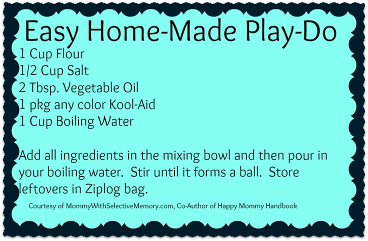 Home-made Play-Dough! #SAHM #homeschool #kids #crafts #children #kindergarten