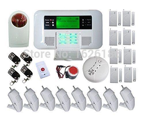175.75$  Watch now  - Alarma GSM PSTN English/Russian/Spanish/Czech alarmanlage homesecure Home Burglar Alarm Shop Alarma alarme maison sans fil