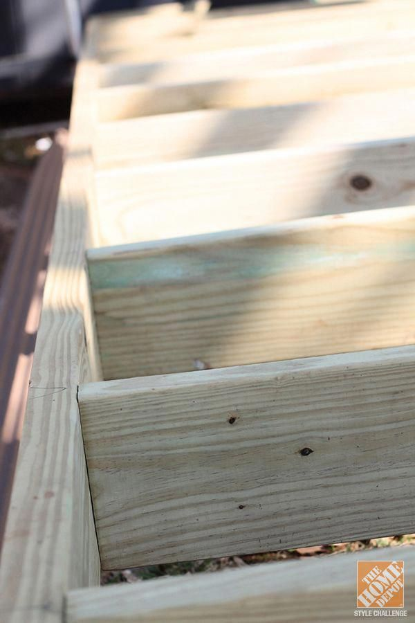 Tips And Ideas On How To Build A Floating Deck Building A Floating Deck Floating Deck Building A Deck