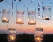 DIY Mason Jars Lanterns