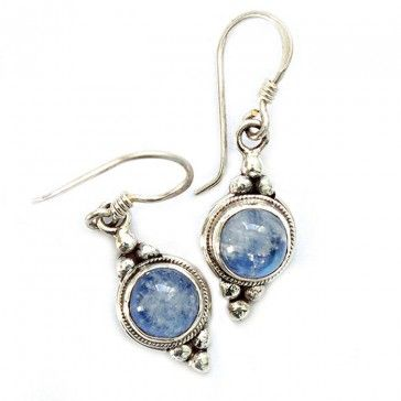 Moonstone Earrings 3 - Earrings - Silver Jewellery - Jewellery