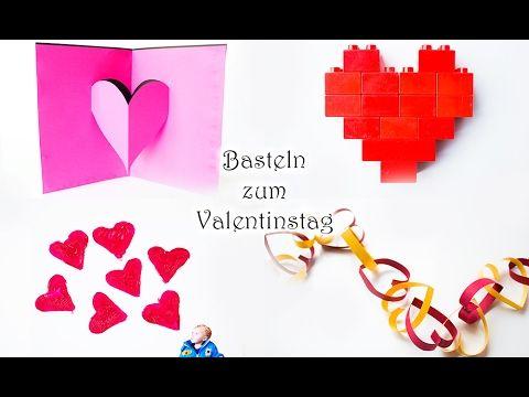 Basteln Mit Kindern Zum Valentinstag | MamaKreativ
