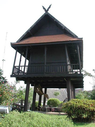 Northern Thailand house   Asian Historical Architecture: a Photographic Survey