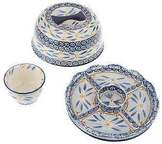 old world temptation dishes | Temptations Old World 3-pc Convertible Serving Set. Can  sc 1 st  Pinterest & 28 best Temptations Dinnerware - Already Have It images on Pinterest ...
