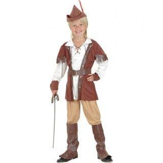 Robin Hood Of The Forest Jongen Kostuum - Feestkleding365
