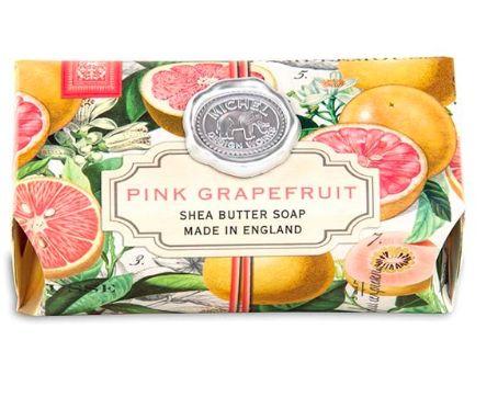 Pink Grapefruit Large Bath Soap Bar
