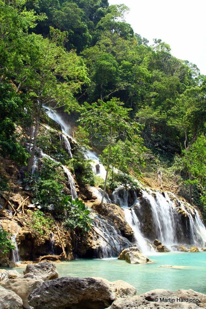 Lapopu waterfall. Sumba. Indonesia.