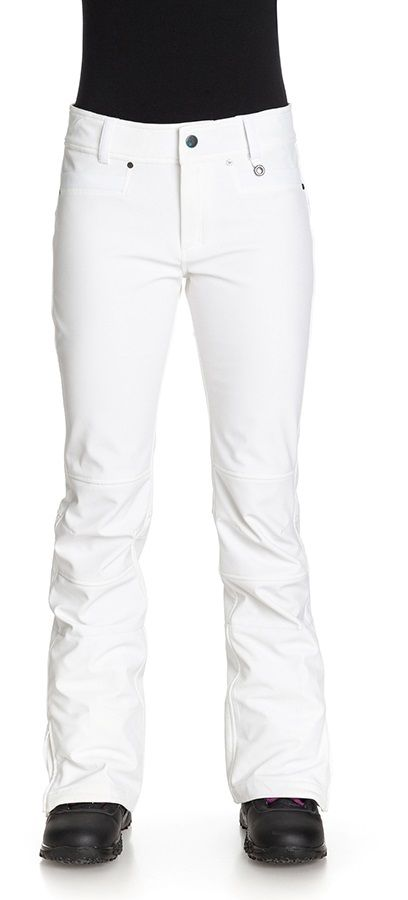 Roxy Creek Women's Snowboard / Ski Pants, M, Bright White