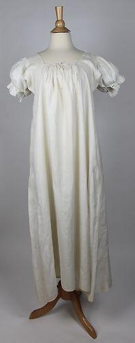 Wonderful Regency Women's Early Antique Linen Chemise 1810 1825 | eBay