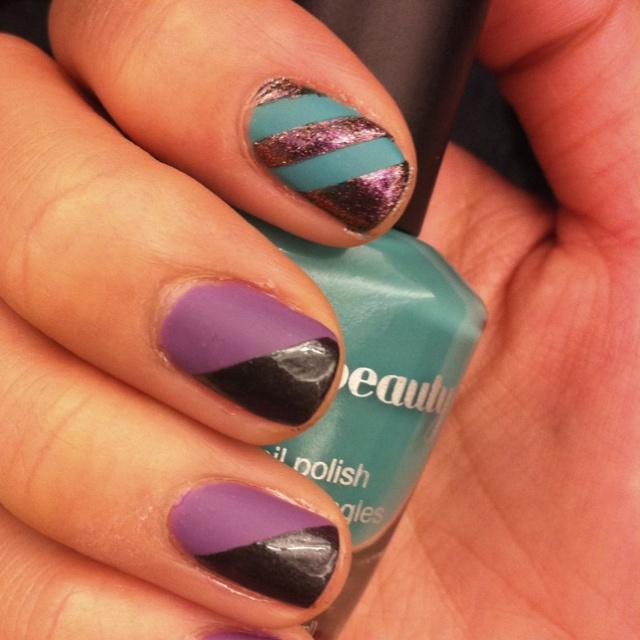 My NYE nails: Nails Fun, New Nails, Fingers Nails