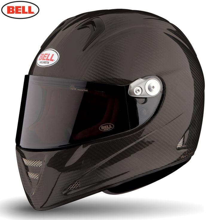 Bell M5x Carbon Daytona Motorcycle Helmet - Matte Carbon Solid - 2014 Bell Road Helmets - 2014 Bell Motocross Helmets - 2014