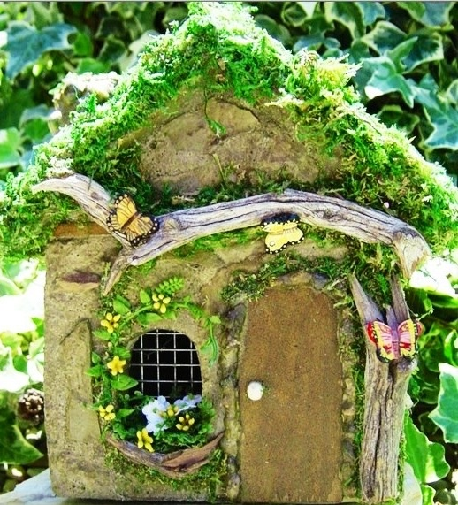89 best Fairy Houses images on Pinterest | Fairy gardening, Fairies ...