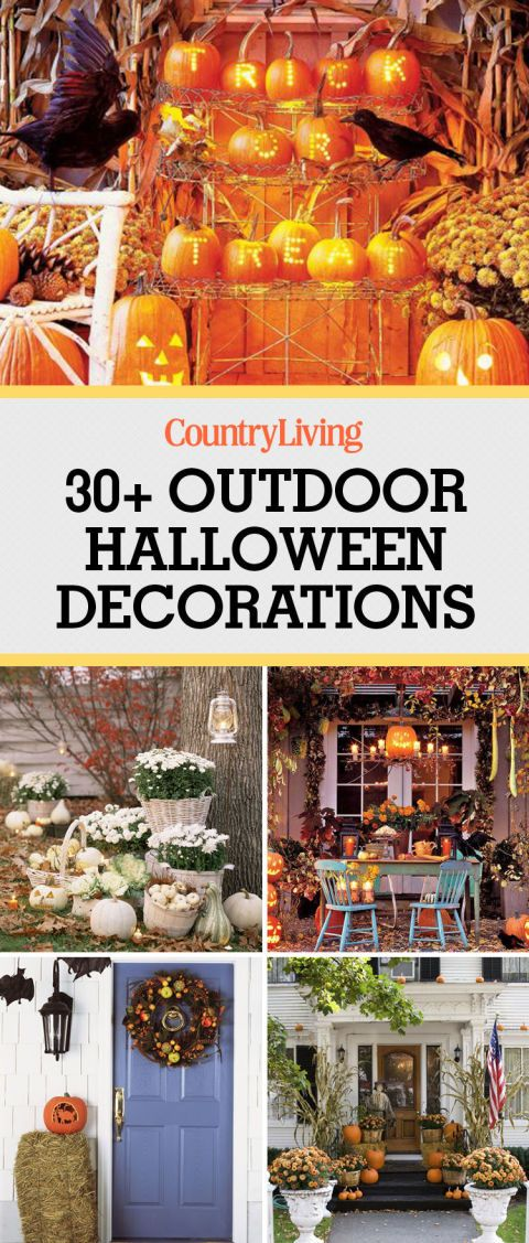 1059 best halloween crafts decorations images on for Halloween party decoration ideas outdoor