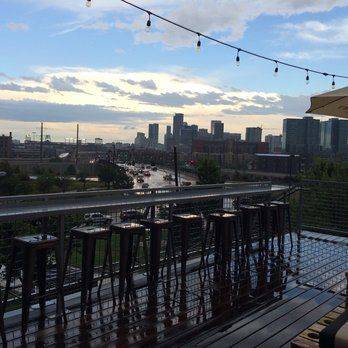 """Avanti Food & Beverage """"A Collective Eatery"""" - Denver, CO, United States. Rooftop view."""