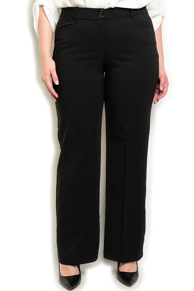 DHStyles Women's Black Plus Size Professional Dressy Mid Waist Straight Leg Pants - 1X Plus #sexytops #clubclothes #sexydresses #fashionablesexydress #sexyshirts #sexyclothes #cocktaildresses #clubwear #cheapsexydresses #clubdresses #cheaptops #partytops #partydress #haltertops #cocktaildresses #partydresses #minidress #nightclubclothes #hotfashion #juniorsclothing #cocktaildress #glamclothing #sexytop #womensclothes #clubbingclothes #juniorsclothes #juniorclothes #trendyclothing…