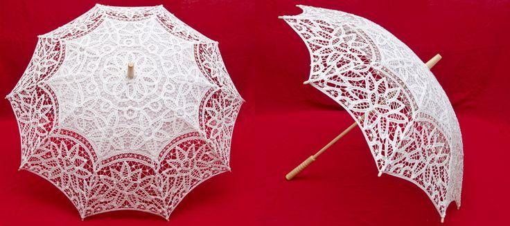 Свадебный зонтик - интересный аксессуар на свадьбу из рубрики Свадебная мода - Свадьбалист: Все о свадьбе!