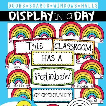 Rainbow Bulletin Board Set                                                                                                                                                                                 More