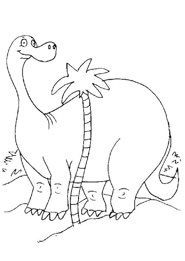 63 Best Coloriages De Dinosaures Images