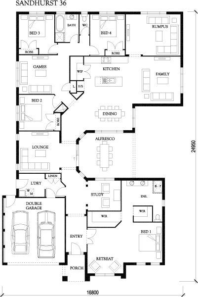 Sandhurst 36 - Large Designs - Eden Brae Homes