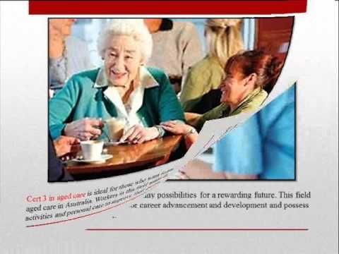 Employment Opportunities with Certificate III Aged Care - YouTube