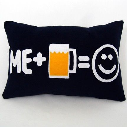 I need a bunch of these for my couch.  You know, to comfort me when I pass out.
