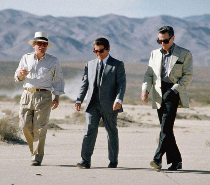 "Martin Scorsese, Joe Pesci & Robert De Niro in ""Casino"", 1995"