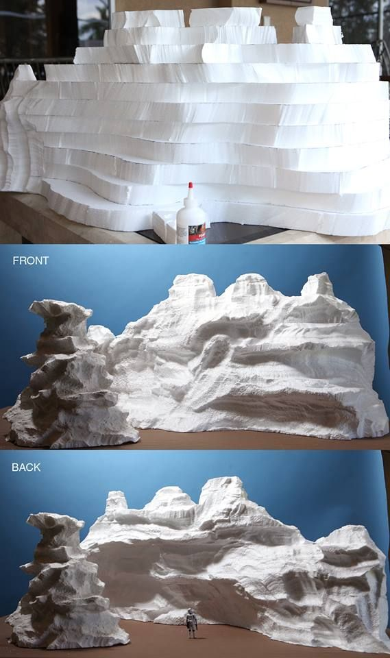"Ever wonder how masterful mini mountains come to life? Stephen Hayford breaks it down into easy steps for this ""top secret"" project. Wonder what it could be for?"