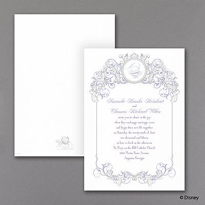 22 best Disney Fairy Tale Cinderella Wedding Invitations images on – Cinderella Wedding Invitation