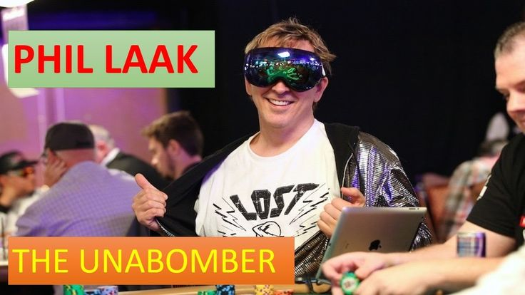 Phil Laak - The Unabomber - The funniest Poker Player