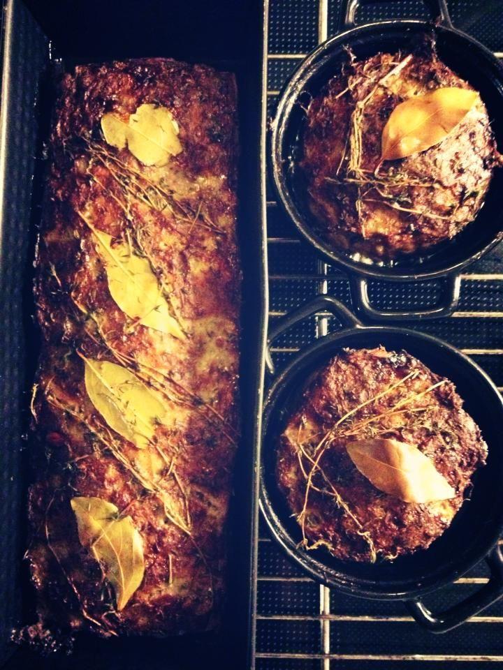 Paté af nakkefilet -svinekød. - Svinekød - MadFar's opskrifter