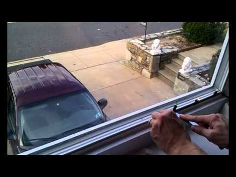▶ How to mount and orient window Christmas lights - YouTube