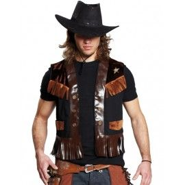 D guisement gilet cowboy homme d guisement cowboy indien western pinterest d guisements - Deguisement western homme ...