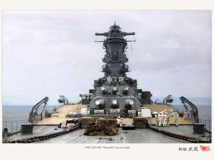 Rocketumblr   戦艦 武蔵 Battleship Musashi