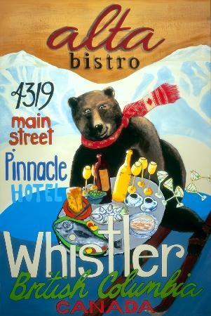 Alta Bistro #whistler