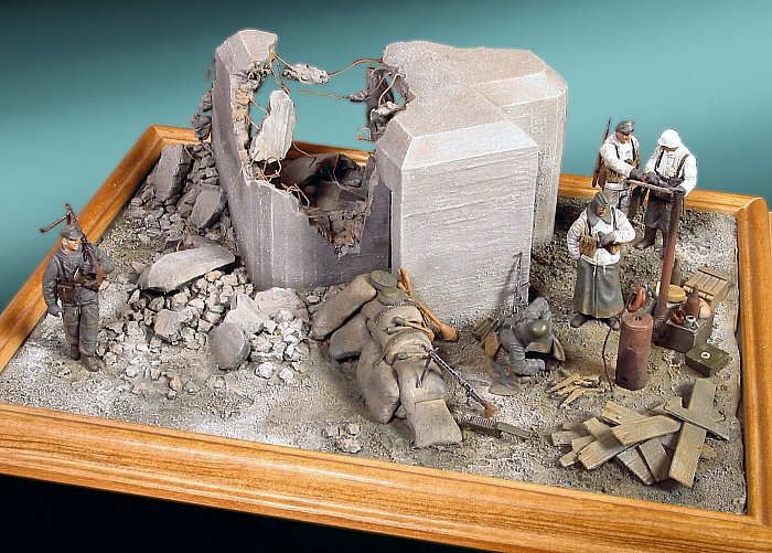 217 best 1 35 diorama and more images on pinterest for Scale model ideas