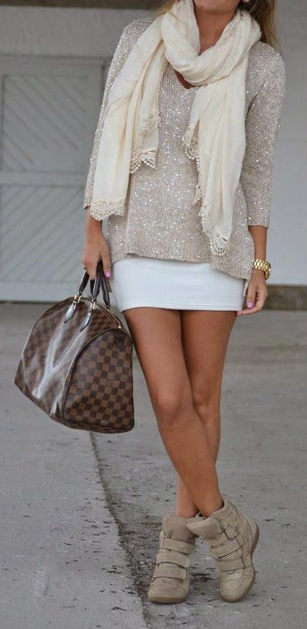 sparkle outfits for fall.