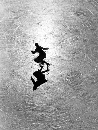 Alfred Eisenstaedt: Melitta Brunner, Champions Melitta, Empty Spaces, Skating Champions, Alfred Eisenstaedt, Ice Skating, Figures Skating, Photo, Brunner Rehear