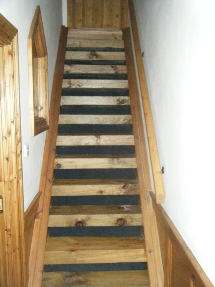 Railway Sleeper Staircase Home Ideas And Zen Pinterest