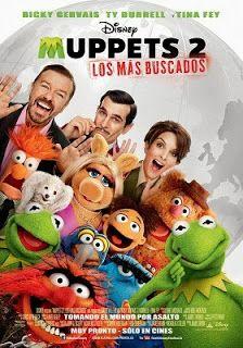 Los Muppets 2 online latino 2014 VK