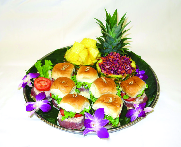 "Island Blackfin Tuna ""Sliders"""