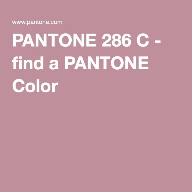 PANTONE 286 C - find a PANTONE Color
