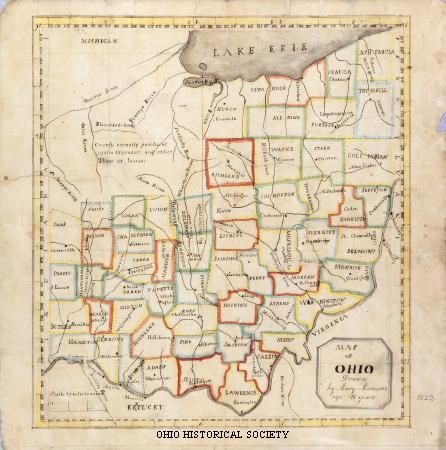 Best 25 Map Of Ohio Ideas On Pinterest Map Of Cleveland