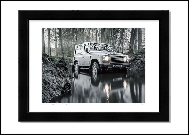 LAND ROVER DEFENDER, limited edition print. http://shop.leepowers.com/collections/automotive/products/land-rover-defender
